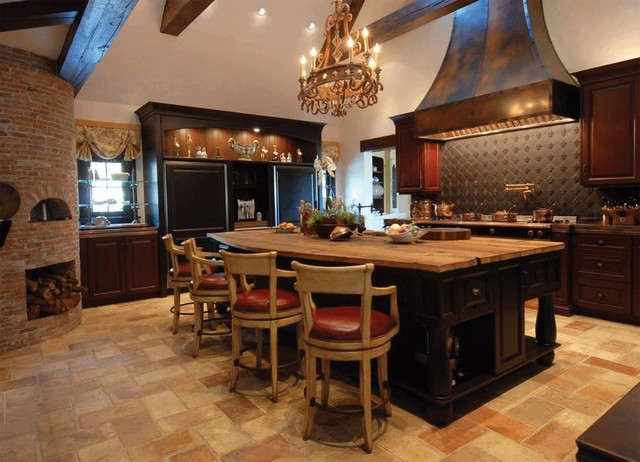 kitchen backsplashes rustic san diego landmark metalcoat kitchen backsplash traditional kitchen