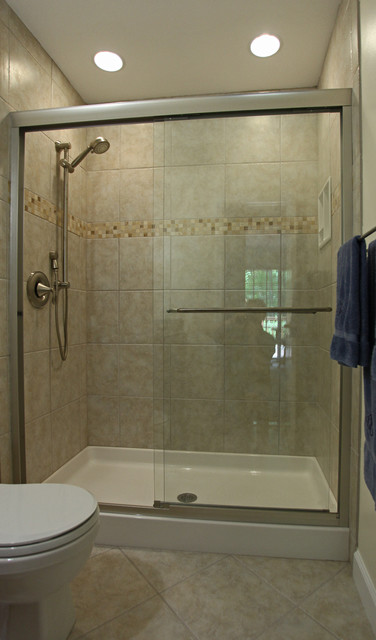 Houzz Showers Small Bathroom Ideas - Traditional - Bathroom - Dc Metro