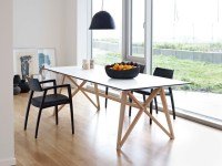 Butterfly Ash Modern Dining Table - Modern - Dining Tables ...
