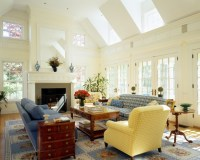 Greek Revival - Traditional - Family Room - boston - by ...