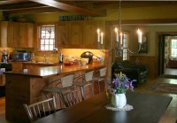 Historic Replica Colonial - Farmhouse - Kitchen ...