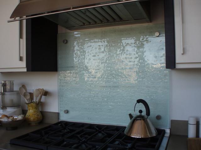 fusion glass backsplash brooks custom contemporary kitchen recycled glass backsplash
