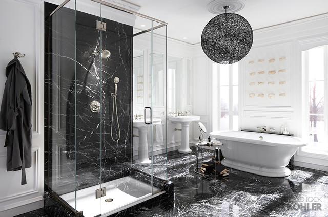 Kohler hollywood glam inspired bathroom contemporary