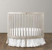 Ellery Round Crib & Mattress - Modern - Cribs - by ...