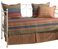 Greenland Home Katy Daybed Set 5-Piece Daybed - Rustic ...