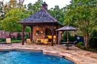 Outdoor Living: Pool & Cabana - Mediterranean - Patio ...