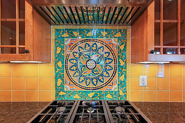 italian tile backsplash traditional kitchen dc metro italian kitchen backsplash design idea mediterranean kitchen