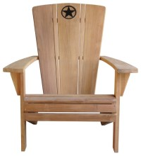 Lone Star Adirondack Chairs, Set of 2 - Contemporary ...