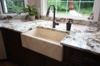 Stone Farmhouse Sink - Traditional - Kitchen Sinks ...