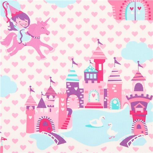 Fairy Tale Castle Castles, Fairy and Architecture background - birthday card layout