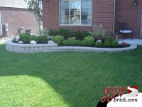 Front Landscaping Ideas Pictures With Bricks PDF