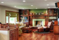 Mission style living room - Traditional - Living Room ...