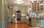 Country Sage Green Kitchen Cabinets