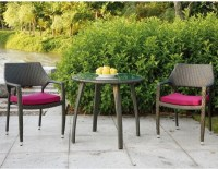 Patio Bistro Table and Chair Set - Outdoor Pub And Bistro ...