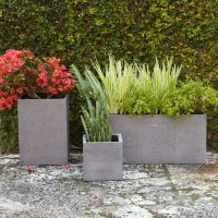 Cityscape Planters - Modern - Outdoor Pots And Planters ...