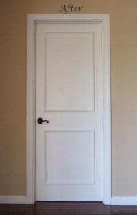 Two Panel Raised Door Moulding Kit - Traditional ...