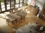 Rustic Wood Farmhouse Dining Room Table