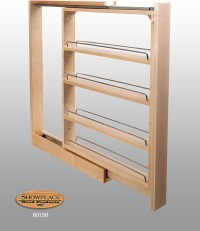 Base Slim Pull-out Rack - Showplace Cabinets - Traditional ...