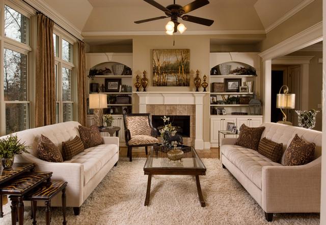 Traditional Living Room Design Ideas - Home Design - traditional living room ideas