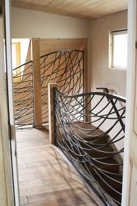 Stonetree Studios Wrought Iron Railing - Contemporary ...