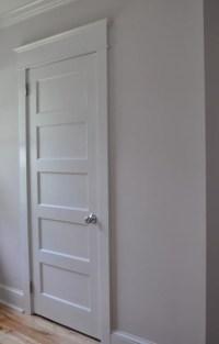 Craftsman look for interior doors