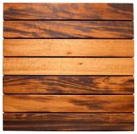 Tigerwood Deck Tiles - Contemporary - Deck Tiles And ...