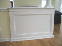 Architectural shadow box wainscoting - Traditional - new ...