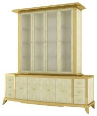 Shagreen Breakfront Cabinet - Modern - los angeles - by ...