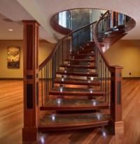Interior Hardwood Flooring - Traditional - Staircase ...