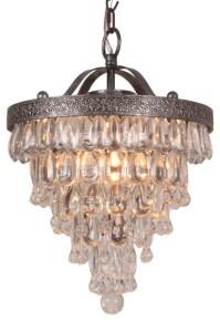 Terracotta Designs Bardolino Glass Drop Chandelier, *Houzz ...