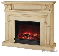 Real Flame Kristine White Antique Electric Fireplace ...