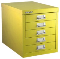Bisley Five-Drawer Cabinet - Filing Cabinets - by The ...