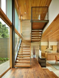 Laurelhurst Residence - Contemporary - Staircase - other ...