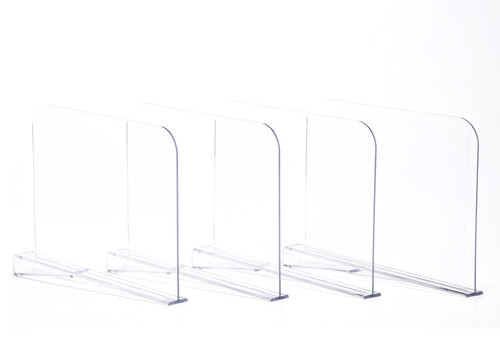 Will Acrylic Shelf Dividers Work With Closetmaid Shelving