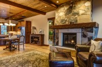 Rustic Contemporary - Rustic - Living Room - other metro ...