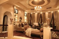Regal Palace - Traditional - Living Room - other metro ...
