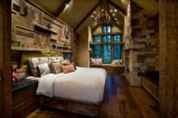 Mountain Cabin - Rustic - Bedroom - phoenix - by IMI ...