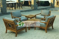 Teak Patio Furniture From Indonesia - Eclectic - Sectional ...