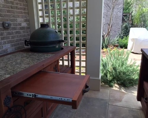 Kitchen Island With Locking Casters Grill Cabinets & Mobile Outdoor Kitchens For Kamado & Gas