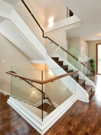 Dark Wood Stairs Ideas, Pictures, Remodel and Decor