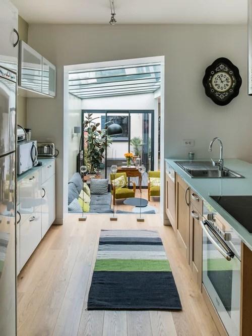 mid sized contemporary galley open concept kitchen idea paris scandinavian kitchen design ideas remodel pictures houzz