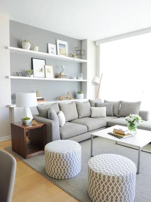 Scandinavian Open Concept Living Room Ideas \ Design Photos Houzz - open concept living room