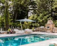 Pools And Outdoor Kitchens Home Design Ideas, Pictures ...