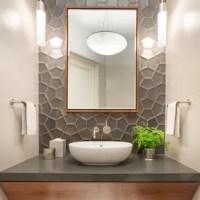 75 Most Popular Contemporary Powder Room Design Ideas for ...