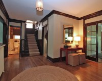 Light Wall Dark Trim Home Design Ideas, Pictures, Remodel ...