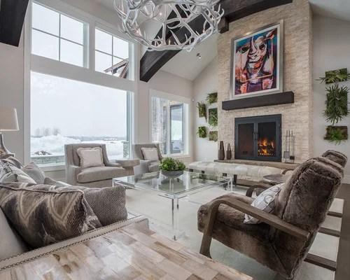 Craftsman Living Room Ideas \ Design Photos Houzz - houzz living room furniture