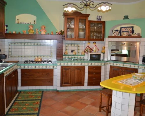 Cucina In Muratura Ceramiche Vietri