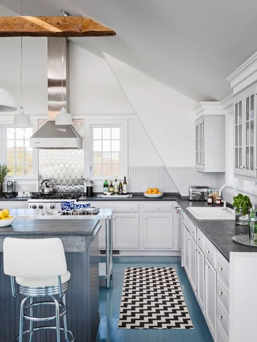 eat kitchen design photos painted wood floors drop inspiration small transitional shaped kitchen remodel