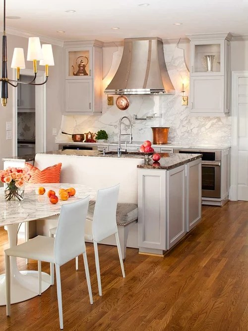 island bench seating home design ideas pictures remodel decor inspiration small transitional shaped kitchen remodel
