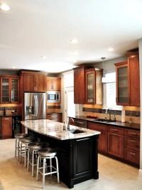 Medium Brown Cabinets | Houzz